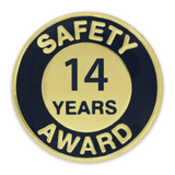 Safety Award Pin - 14 Years