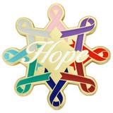 Awareness Ribbons Hope Pin
