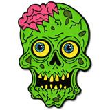 Zombie Brain Pin