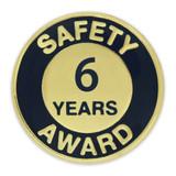Safety Award Pin - 6 Years