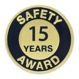 Safety Award Pin - 15 Years