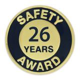 Safety Award Pin - 26 Years