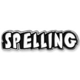 Spelling Word School Pin