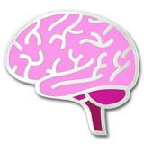 Human Brain Lapel Pin
