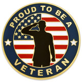 Made in the U.S.A. Veteran Pin