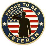 Made in the U.S.A. Veteran Pin