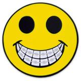 Smiley Face Braces Pin