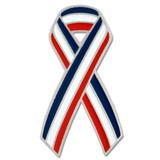 Red, White & Blue Ribbon Pin