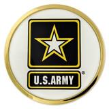 U.S. Army Chrome Emblem Decal