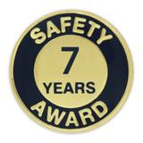 Safety Award Pin - 7 Years