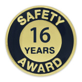 Safety Award Pin - 16 Years