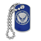 U.S. Air Force Dog Tag Pin
