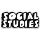 Social Studies Word School Pin - BOGO