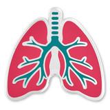 Human Lungs Lapel Pin