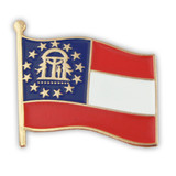 Georgia State Flag Pin