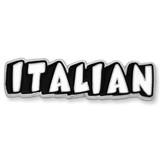 Italian Word Language Pin - BOGO