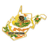 West Virginia Pin