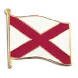 Alabama State Flag Pin