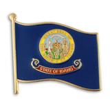 Idaho State Flag Pin