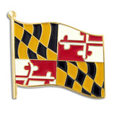 Maryland State Flag Pin