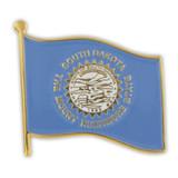 South Dakota State Flag Pin