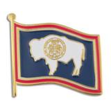 Wyoming State Flag Pin
