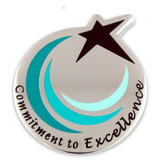 Commitment To Excellence Pin Magnetic Back