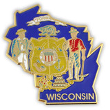 Wisconsin Pin
