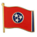 Tennessee State Flag Pin
