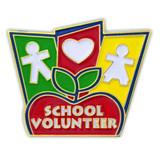 School Volunteer Pin
