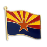Arizona State Flag Pin