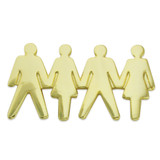 Teamwork People Pin