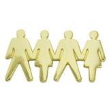 Teamwork People Pin