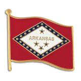 Arkansas State Flag Pin