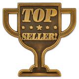 Top Seller Trophy Pin
