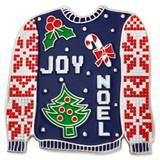 Ugly Christmas Sweater Pin