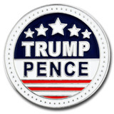 Trump and Pence Lapel Pin