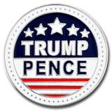 Trump and Pence Lapel Pin - BOGO