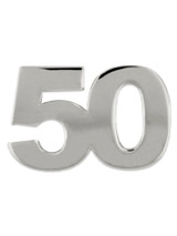 Silver 50 Pin