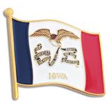 Iowa State Flag Pin