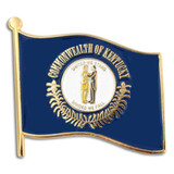 Kentucky State Flag Pin