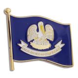 Louisiana State Flag Pin