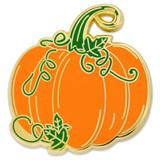 Pumpkin Vine Pin