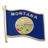 Montana State Flag Pin