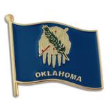 Oklahoma State Flag Pin