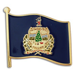 Vermont State Flag Pin