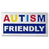 Autism Friendly Pin
