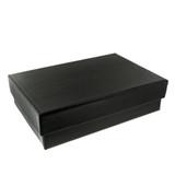 Extra Large Black Textured Gift Box