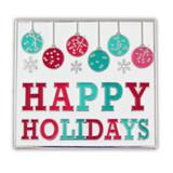 Happy Holidays Lapel Pin