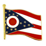Ohio State Flag Pin